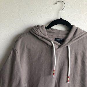 Men's short sleeve sweatshirt